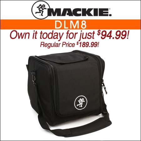 Mackie DLM8 Speaker Bag