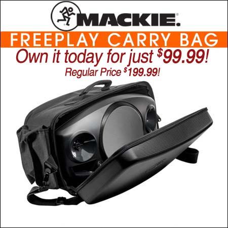 Mackie FreePlay Carry Bag