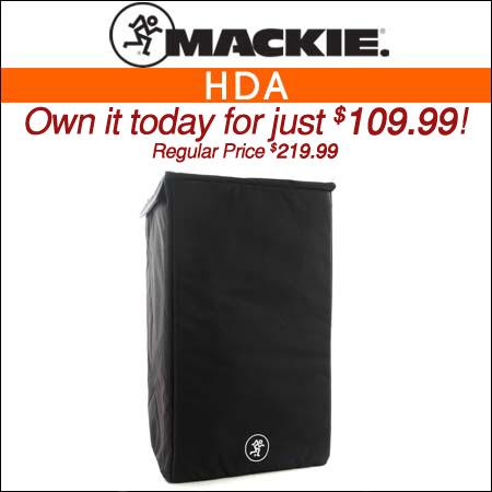 Mackie HDA Speaker Cover