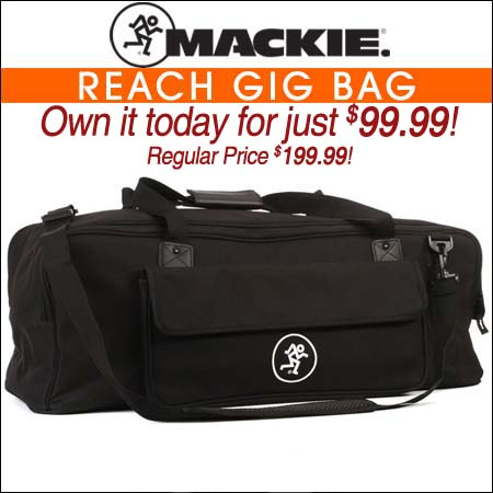 Mackie Reach Gig Bag