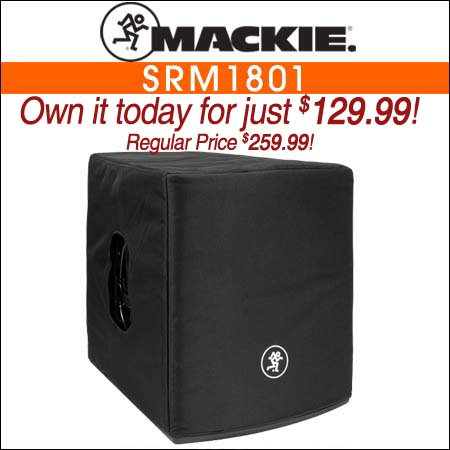 Mackie Speaker Cover for SRM1801 Subwoofer