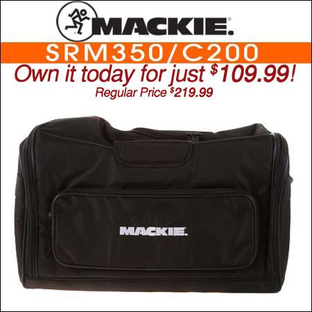 Mackie SRM350/C200 Speaker Bag