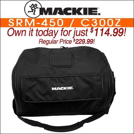 Mackie SRM-450 / C300z BAG