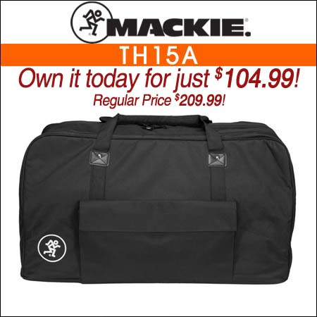 Mackie Speaker Bag for TH15A PA Speaker