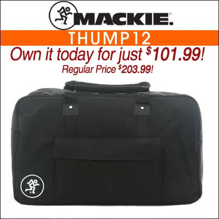 Mackie Thump12 Speaker Bag