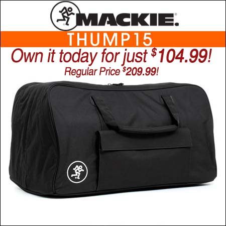Mackie Thump15 Speaker Bag