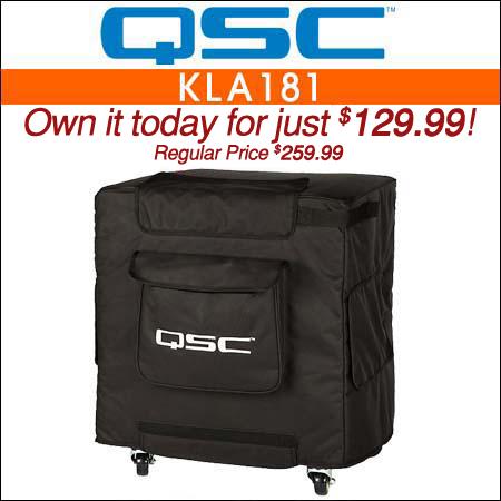 QSC KLA181 Speaker Cover