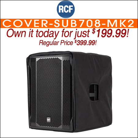 RCF COVER-SUB708-MK2 Protection Cover for Subwoofer