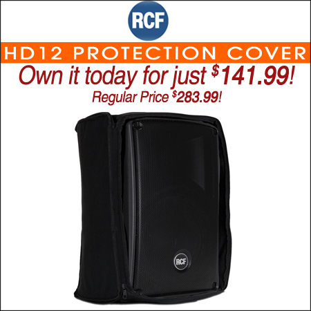 RCF HD12 Protection Cover