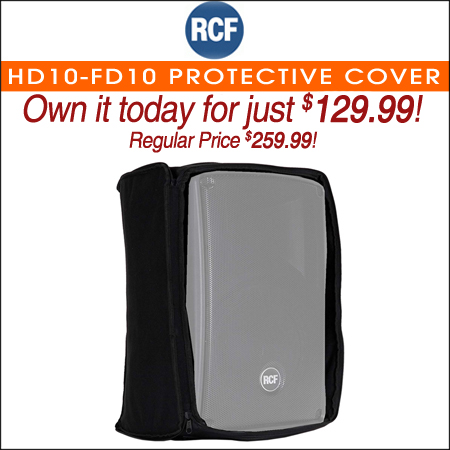 RCF HD10-FD10 Protective Cover for HD 10-A Speakers