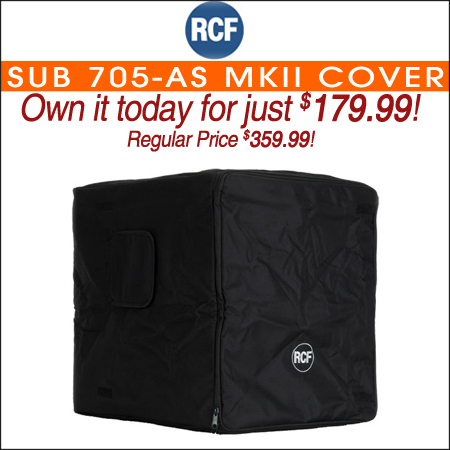 RCF SUB 705-AS MkII Cover