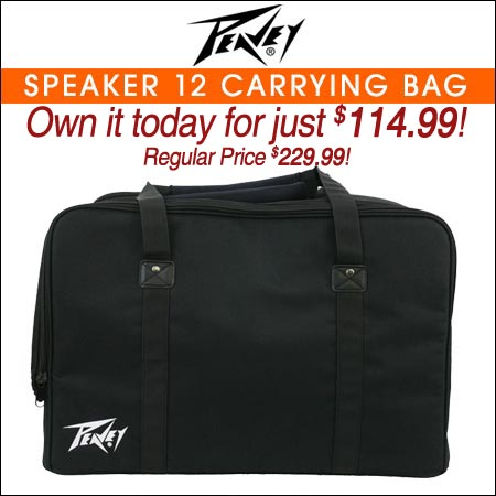 Peavey Speaker 12 Carrying Bag