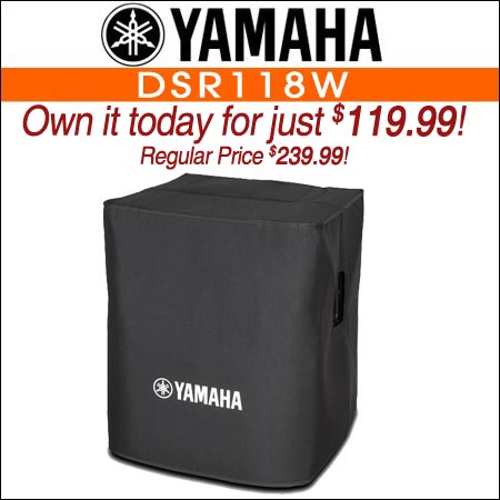 Yamaha DSR118W Subwoofer Cover