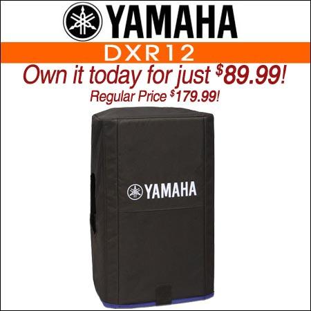 Yamaha DXR12 Speaker Cover