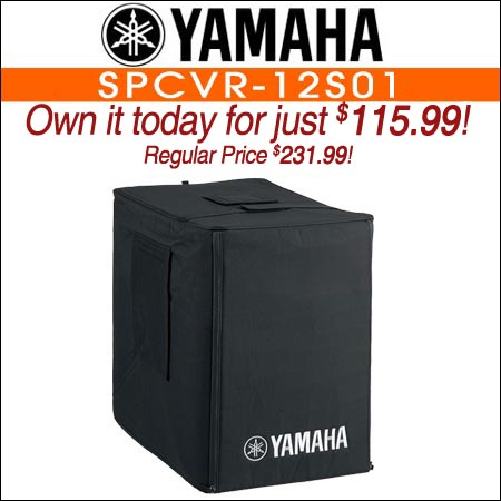 Yamaha SPCVR-12S01 Weather Resistant Cover for DXS12 Powered Subwoofer