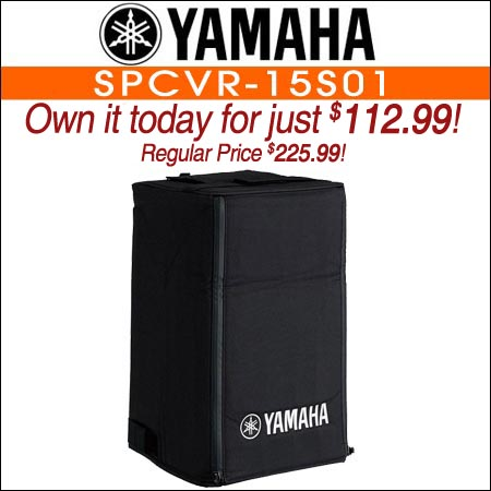Yamaha SPCVR-15S01 Weather Resistant Cover for DXS15 Powered Subwoofer