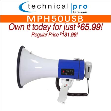 Technical Pro MPH50USB