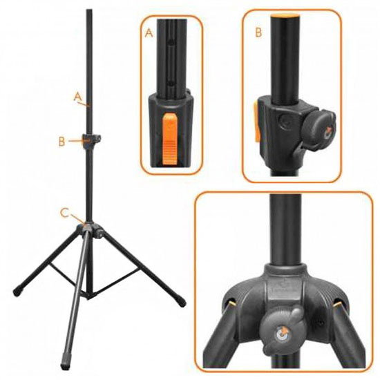 DAS Event 208A Tripod Pack