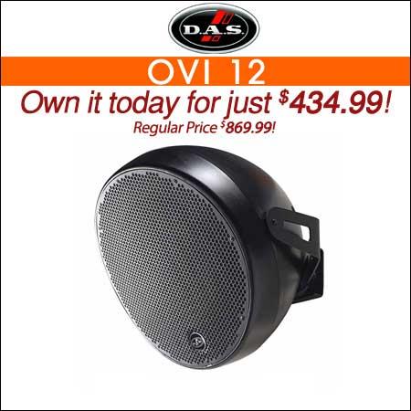 "DAS OVI 12"" Passive Speaker System"
