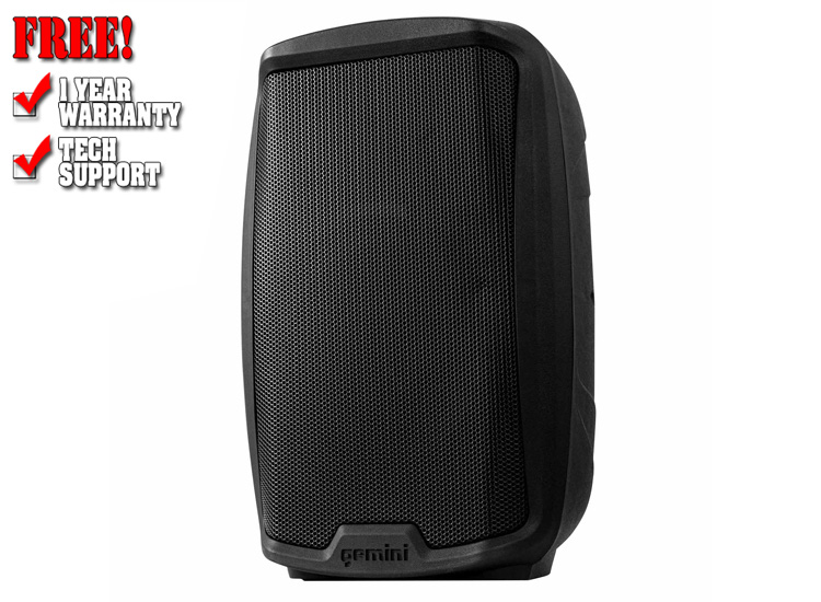 """Gemini AS-2110BT Active 10"""" Loudspeaker with Bluetooth Connectivity"""