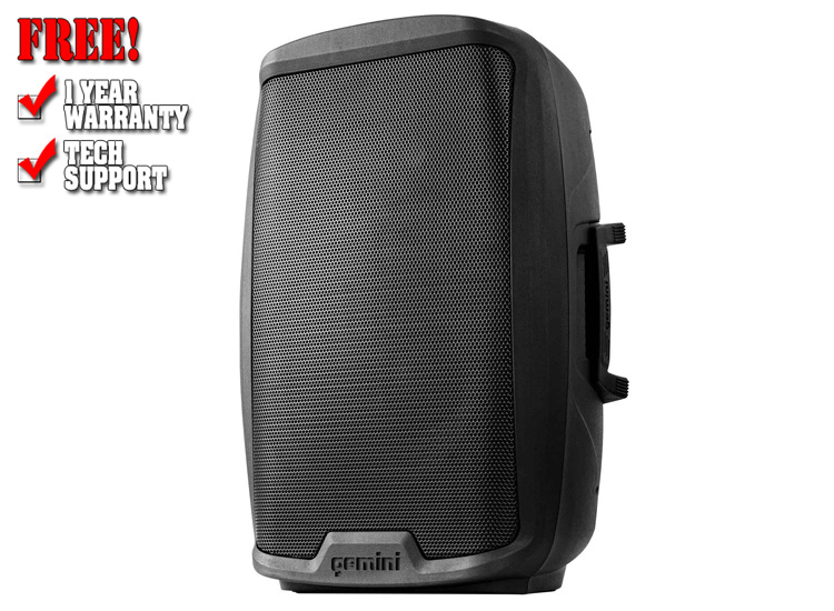 """Gemini AS-2112BT Active 12"""" Loudspeaker with Bluetooth Connectivity"""