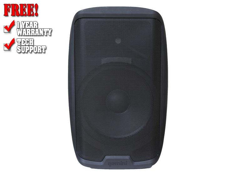 """Gemini AS-2115BT 15"""" Powered Loudspeaker with Bluetooth"""