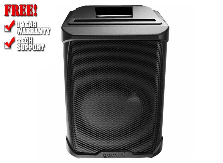 "Gemini GPSS-650 6.5"" High Power Active Bluetooth PA Speaker"