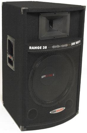 Range38 Gemsound Speakers Dj Speakers Chicago Dj