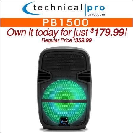 Technical Pro PB1500