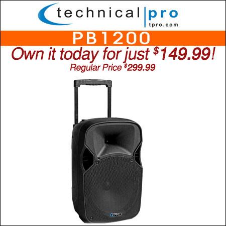 Technical Pro PB1200