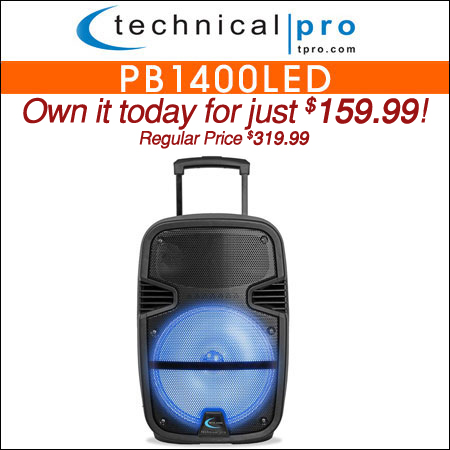 Technical Pro PB1400LED