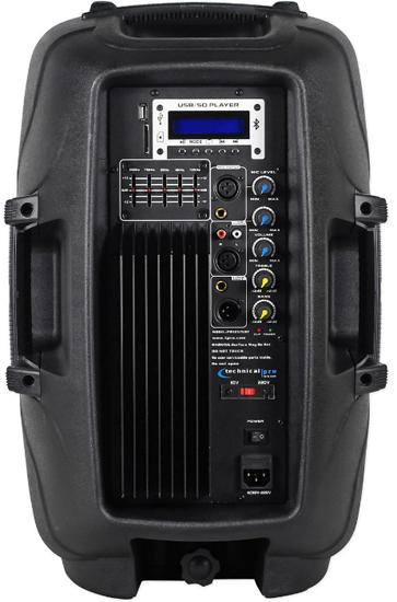 Technical Pro Pw1558ubt Dj Speakers Dj Audio Chicago