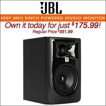 JBL 305P MkII 5inch Powered Studio Monitor