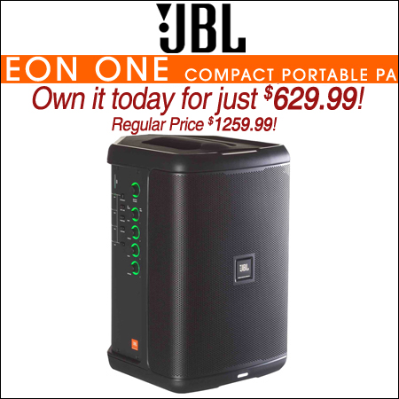 JBL Professional Eon One Compact Portable PA