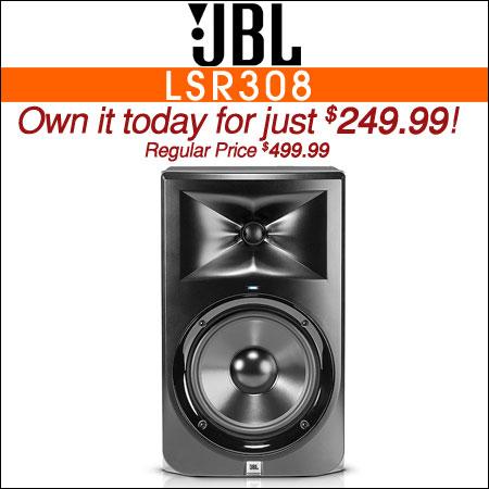 JBL LSR308 8inch Powered Studio Monitor