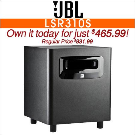 JBL LSR310S 10-Inch Powered Studio Subwoofer