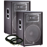 JBL JRX215 Value Pack