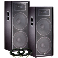 JBL JRX225 Value Pack
