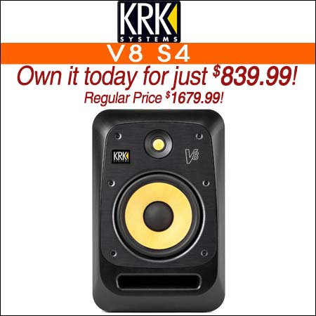 KRK V8 S4
