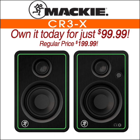 Mackie CR3-X
