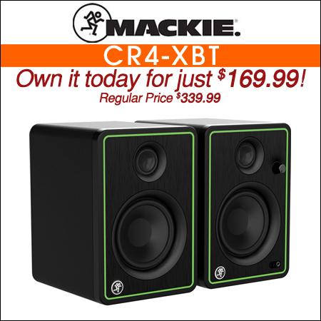 Mackie CR4-XBT Studio Monitors