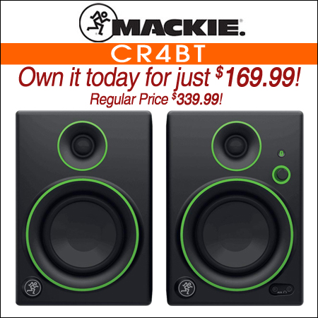 Mackie CR4BT Studio Monitors