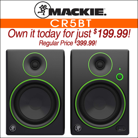 Mackie CR5BT Studio Monitors