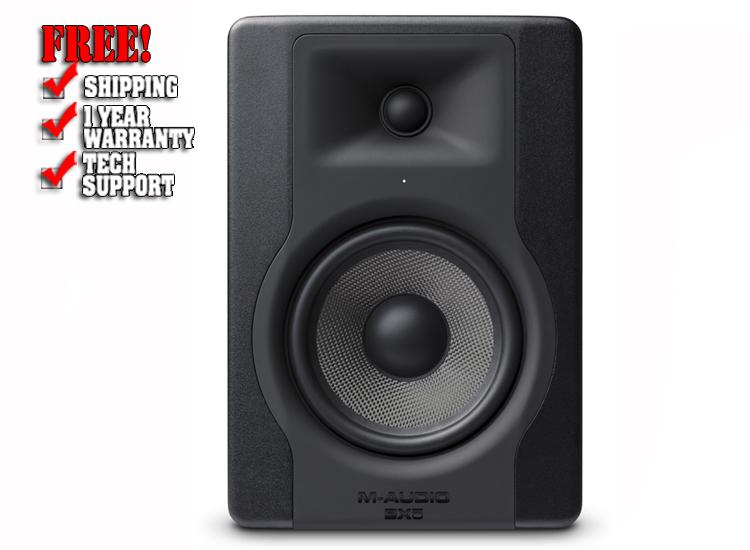 "M-Audio BX5 D3 5"" Powered Studio Monitor"