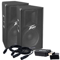 PEAVEY PV115D VALUE PACK