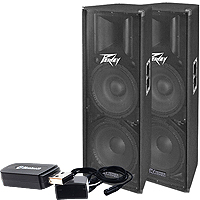 PEAVEY PV215D VALUE PACK