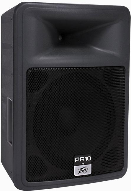 peavey pr10 dj speakers dj audio chicago dj equipment 123dj. Black Bedroom Furniture Sets. Home Design Ideas