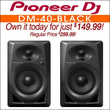 Pioneer DM-40 Black