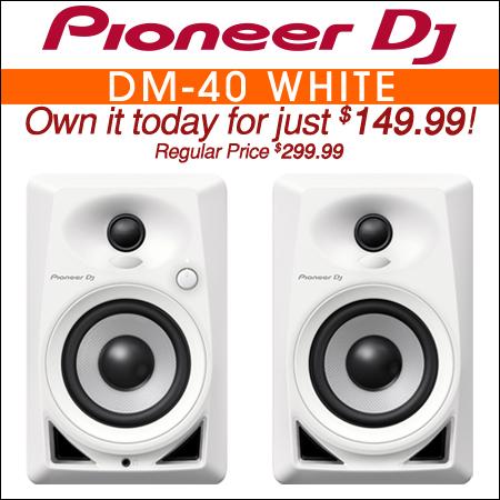 Pioneer DM-40 White