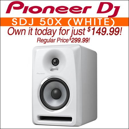 Pioneer SDJ 50X (white)